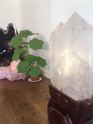 zeer grote bergkristal